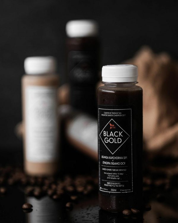 black gold ready to drink coffee